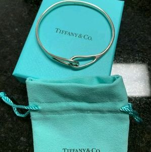 Tiffany & Co Rare 925 SS Interlocking Bracelet